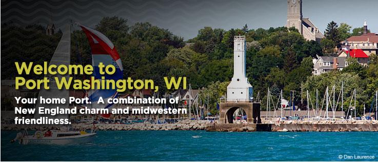 Updated port washington 39 s historic city center wa for Port washington wi
